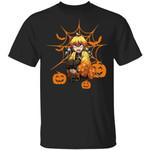 Zenitsu Demon Slayer Halloween Shirt Kimetsu No Yaiba Tee