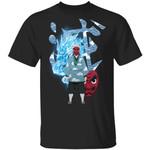 Demon Slayer Kisatsutai Sakonji Urokodaki Shirt Kimetsu No Yaiba Tee