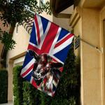 Flag UK angus cattle 4July