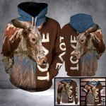 DL TEXAS LONGHORN COW LOVE LHB - 3D PRINT