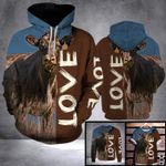 DL BLACK ANGUS COW LOVE LHB - 3D PRINT