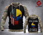 TT Colombia - My Home 3d Printed HOODIE SPT