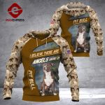 DH PITBULL HOODIE CAMO ALL OVER PRINT