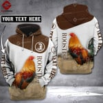 CUSTOMIZE ROOSTER LKH 3D PRINT HOODIE