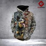 Heeler 3D printed hoodie MAZ