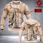 Customized Operator Half Camouflage  FMT HOODIE PDT1502