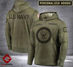 Personalized Warriors CMF 3D printed hoodie NVAW
