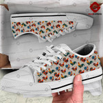 Rooster 3D printed low top shoes GNA