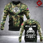 LKH 9 TO 5 ROOFER HOODIE 3D OVER PRINT