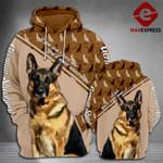 TT German shepherd Camo 3d printed HOODIE JMG