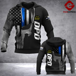 DPD Sheepdog 3D printed hoodie NAU