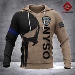 NYSO Sheepdog 3D printed hoodie GJA