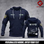 Soldier NYPD personalized 3d Printed HOODIE TT
