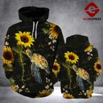 VH SUNFLOWER TURTLE 311 3D ALL OVER PRINT