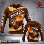 MTP CUSTOMIZE ROOSTER HOODIE 3D VQ