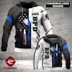 Personalized BPD Sheepdog 3D printed hoodie WFL