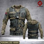 CUSTOMIZED UK ARMY LMT 3D HOODIE HVQ1902