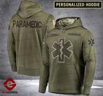 Personalized Paramedic CMF 3D printed hoodie