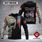 VH CUSTOMIZE PUERTO RICO 1002 - 3D ALL OVER PRINT