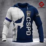 CSPD Sheepdog 3D printed hoodie GJA