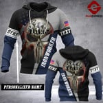 Personalized Ironworker pns 3d Printed HOODIE T6O