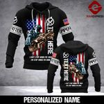 CUSTOMIZE PIPEFITTER 3D PRINT HOODIE PMT