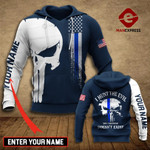 Personalized US I HUNT THE EVIL 3d Printed HOODIE TT