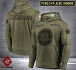 Personalized Warriors CMF 3D printed hoodie CGW