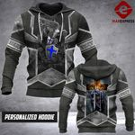 PERSONALIZED PEACEMAKERS 3D PRINT HOODIE LMT