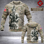 US Camo Army Personalized 3d Printed HOODIE TT