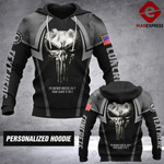 LAH PERSONALIZED CONCRETE HOODIE PRINTED