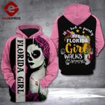 Florida girl walks in 3D HOODIE LMT