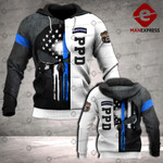 PPD Sheepdog 3D printed hoodie WFL