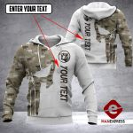 CUSTOMIZE CHAROLAIS PUNISHER CAMOUFLAGE 3D HOODIE