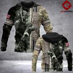 Warriors SLF 3D printed hoodie ARMB