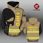 MH HONOLULU FIRE DEPARTMENT HOODIE PRINTED