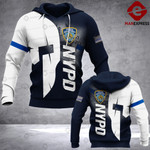 NYPD Sheepdog Spartan 3D printed hoodie LOL