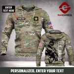MTP US ARMY CAMO CUSTOMIZE HOODIE 3D