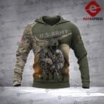 Warriors FNA 3D printed hoodie ARMW