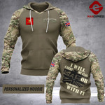 MTP CUSTOMIZE ARMY UK  HOODIE  3D 32