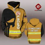 MH LOS ANGELES COUNTY FIRE DEPARTMENT HOODIE PRINTED