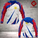 Philippines 3D printed hoodie VAL