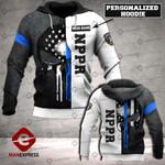Personalized NPPR Sheepdog 3D printed hoodie WFL
