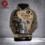 MH PITBULL WITH GRIL HOODIE 3D PRINTED
