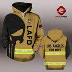 MH LOS ANGELES FIRE DEPARTMENT HOODIE PRINTED
