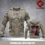 TT CUSTOMIZE US ARMY -Stand for the flag GREAT 3D HOODIE