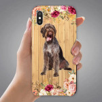 VH German Wirehaired Pointer 1002 PHONE CASE