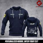Soldier Illinois-State-Police personalized 3d Printed HOODIE TT