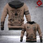 Trucker Not For The Weak 3D printed hoodie ZHJ
