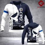 CPD Sheepdog 3D printed hoodie TOST